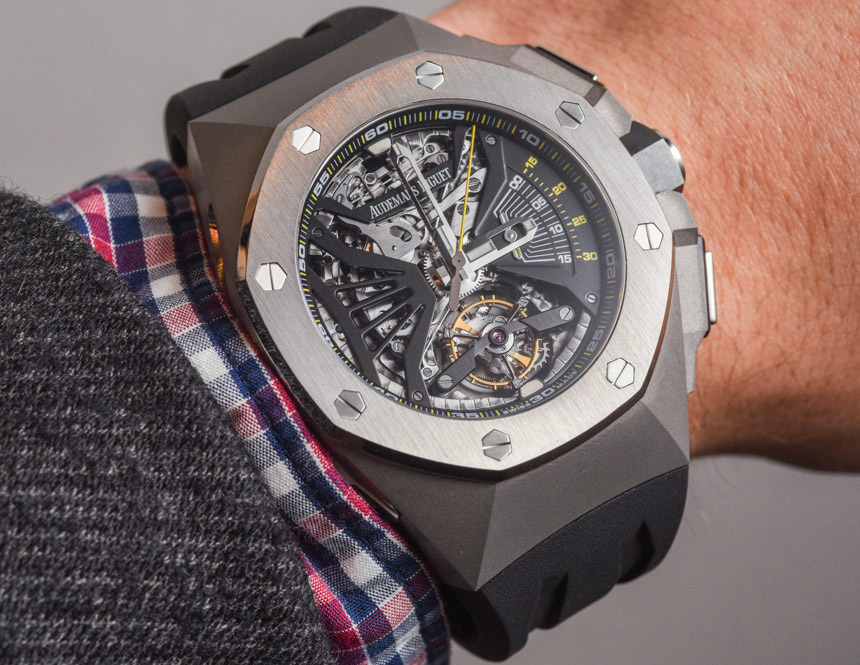 07cbbc0e788 Audemars-Piguet-Royal-Oak-Concept-Supersonnerie-Tourbillon-Chronograph-.  Rubber strap fake Audemars Piguet watches ...