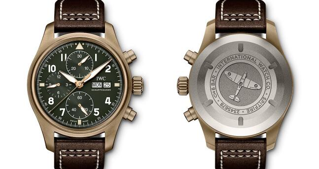 The color-matching of bronze cases with military green dials is amazing.
