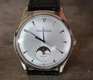 Jaeger-LeCoultre Master moon watch is best choice for gentlemen.