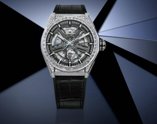 Zenith Defy always presents the high technology and brilliant appearance.